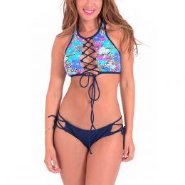 Bikini Escote Tiras Solosol 22843928ad63