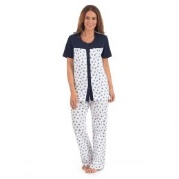 Pijama Estampada Manga Corta Thaiss ef5846ea87d2