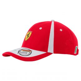 b2efb972989f1 Gorra Réplica Vettel Ferrari Puma