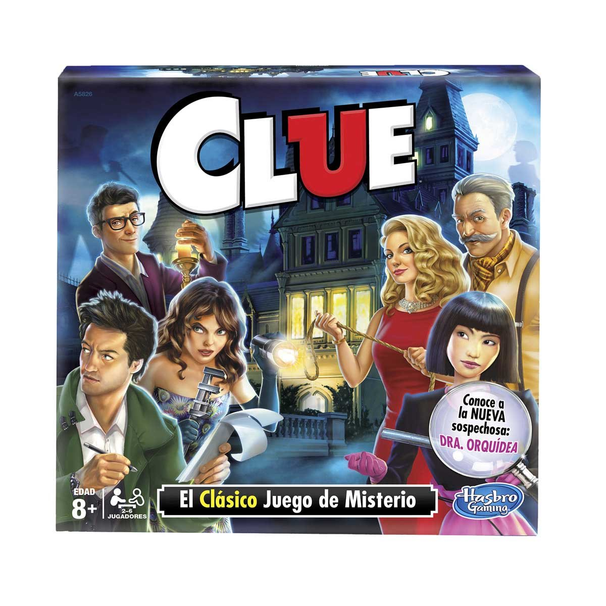 Hasbro Gaming Clue Sears Com Mx Me Entiende