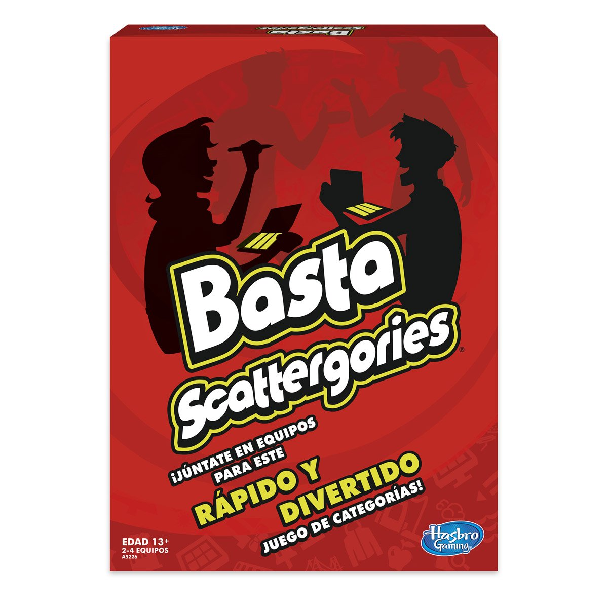 Hasbro Gaming Basta Scattergories Sears Com Mx Me Entiende
