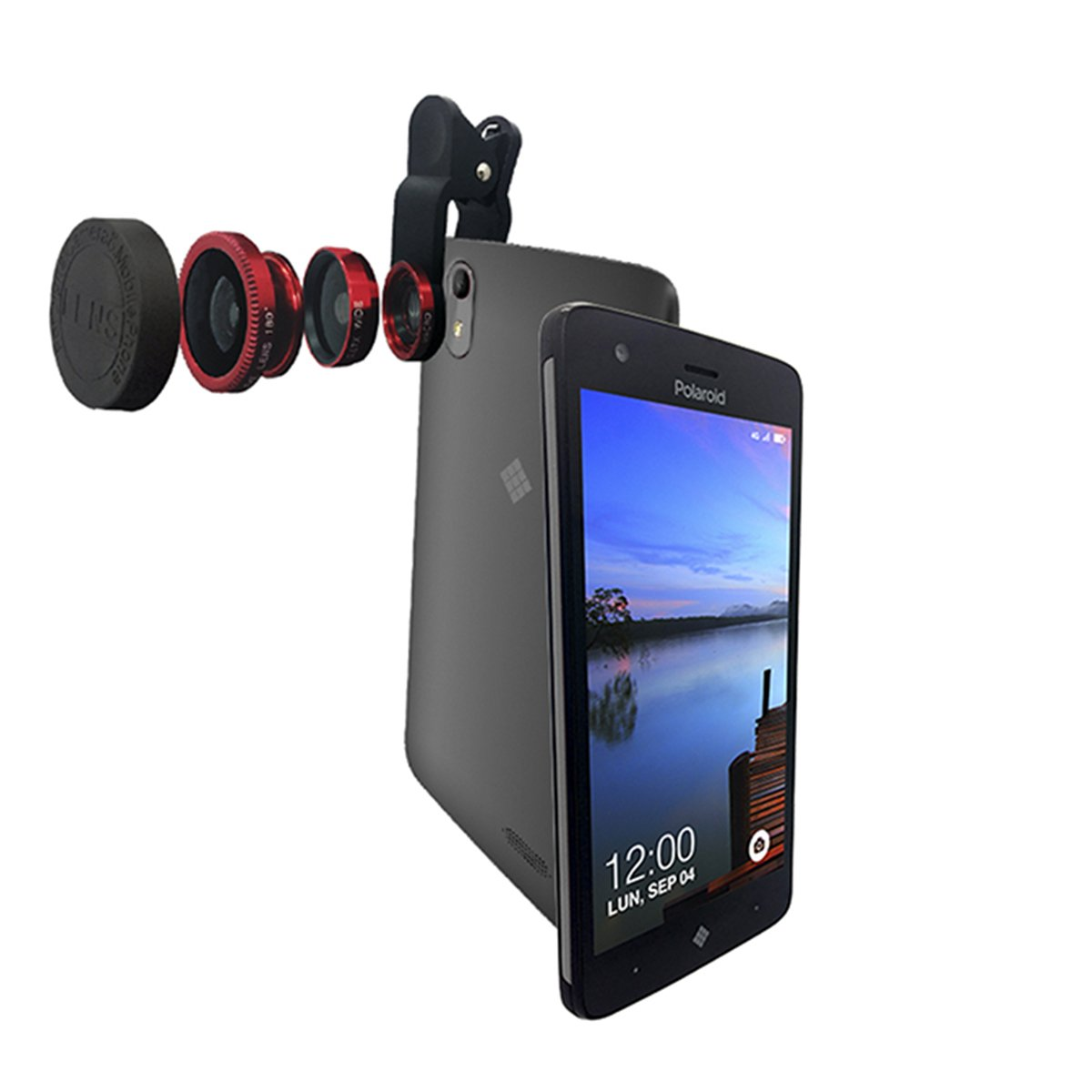 33ac4e8bd7 Celular Polaroid P5026 Cosmo Color Gris R9 (Telcel) | SEARS.COM.MX ...