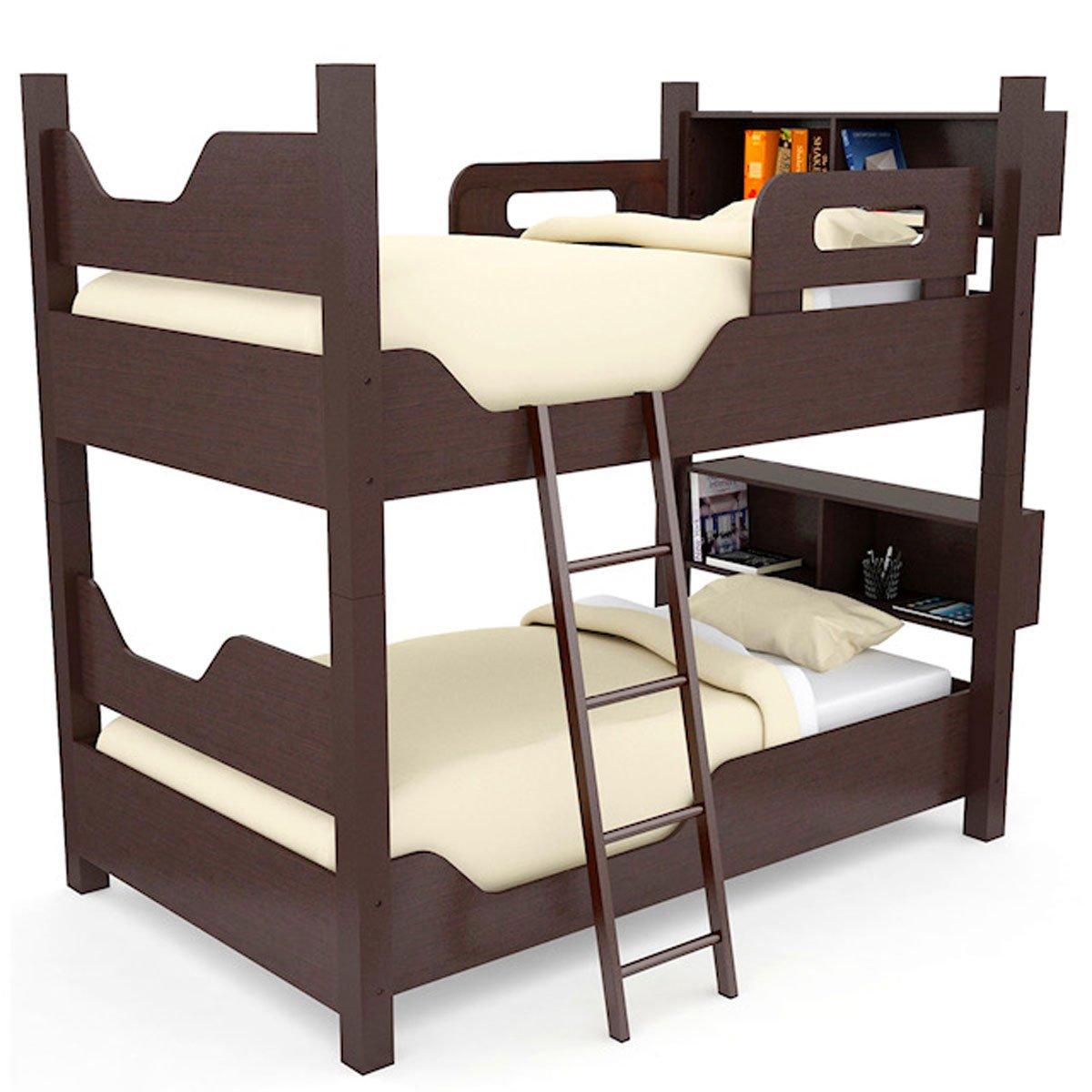 Litera escada con 2 camas individuales gemelas sears com - Precios de literas para ninos ...