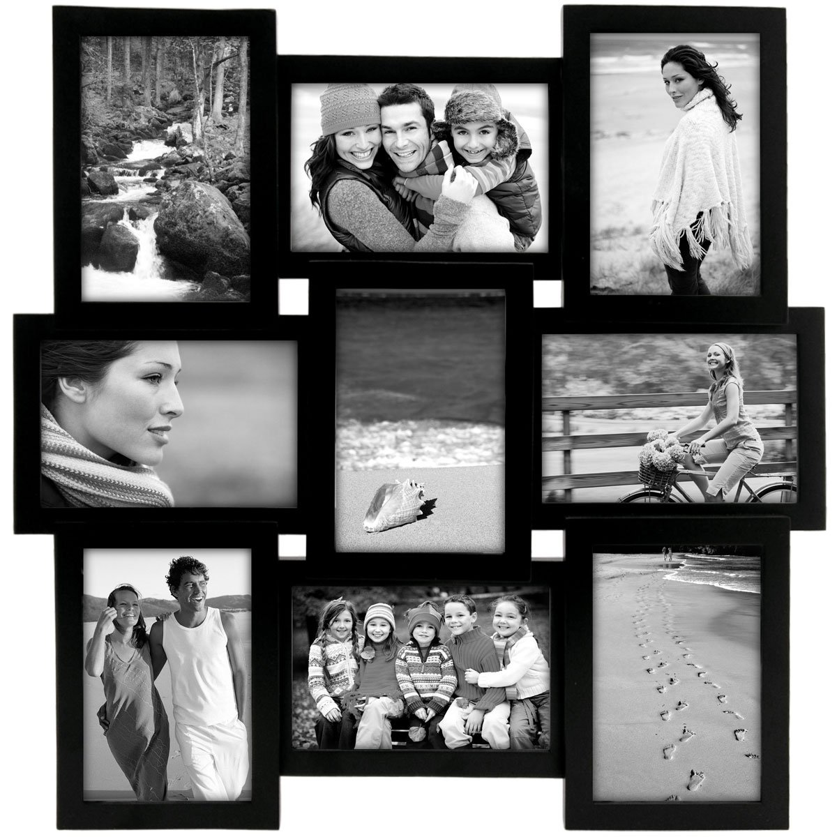 Portaretrato negro cross road collage 90p Malden | SEARS.COM.MX - Me ...
