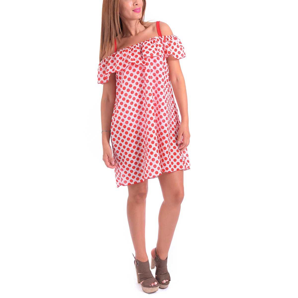 Vestido Con Olan Salida De Playa Eurosol Concept | SEARS.COM.MX - Me ...