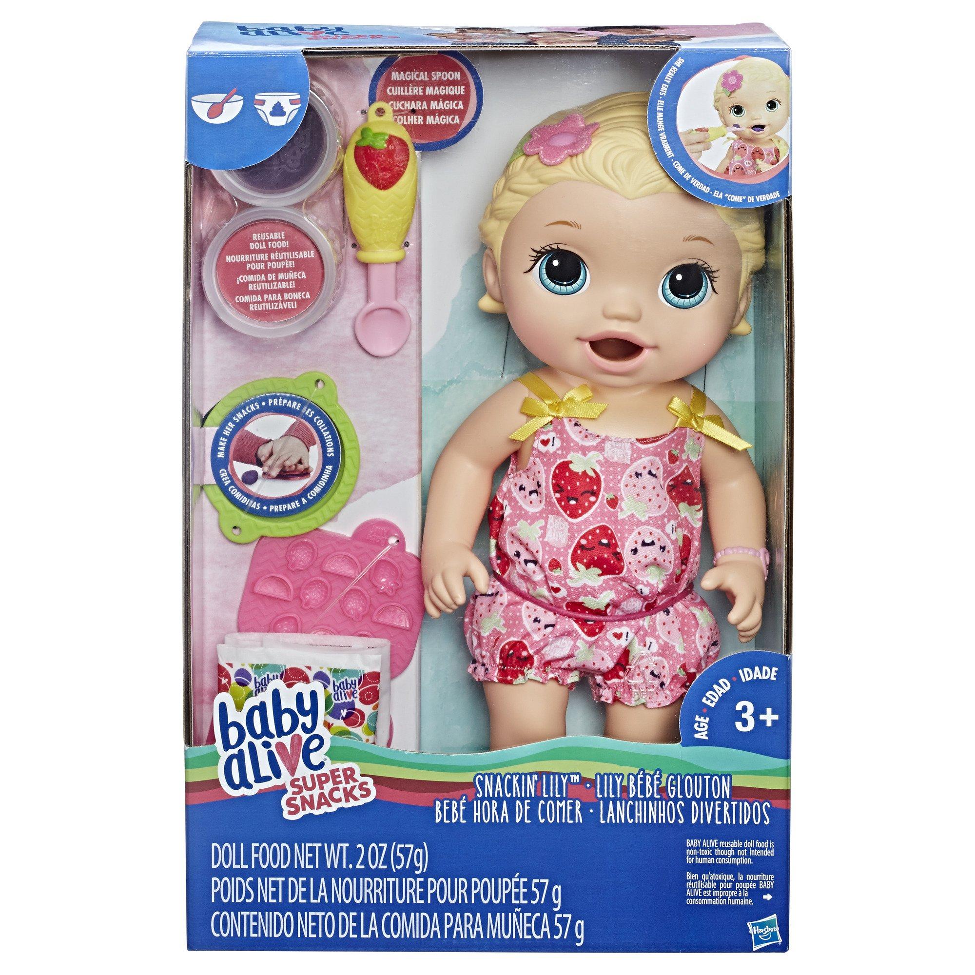 5434e032c6 Baby Alive - Bebé Hora De Comer