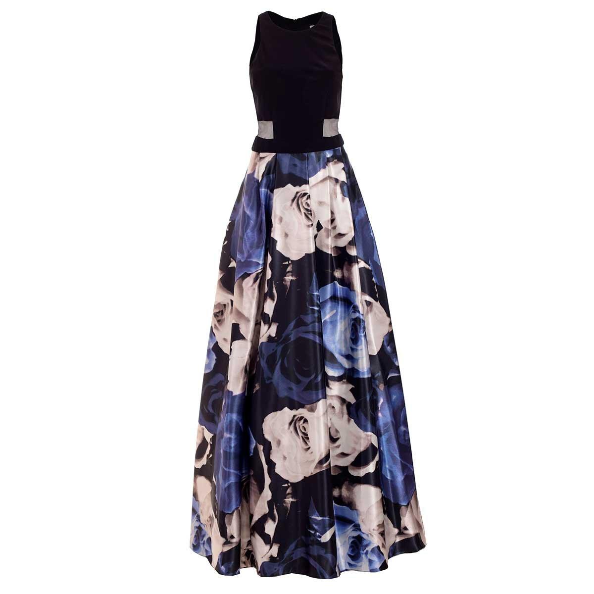 Vestidos de fiesta falda estampada