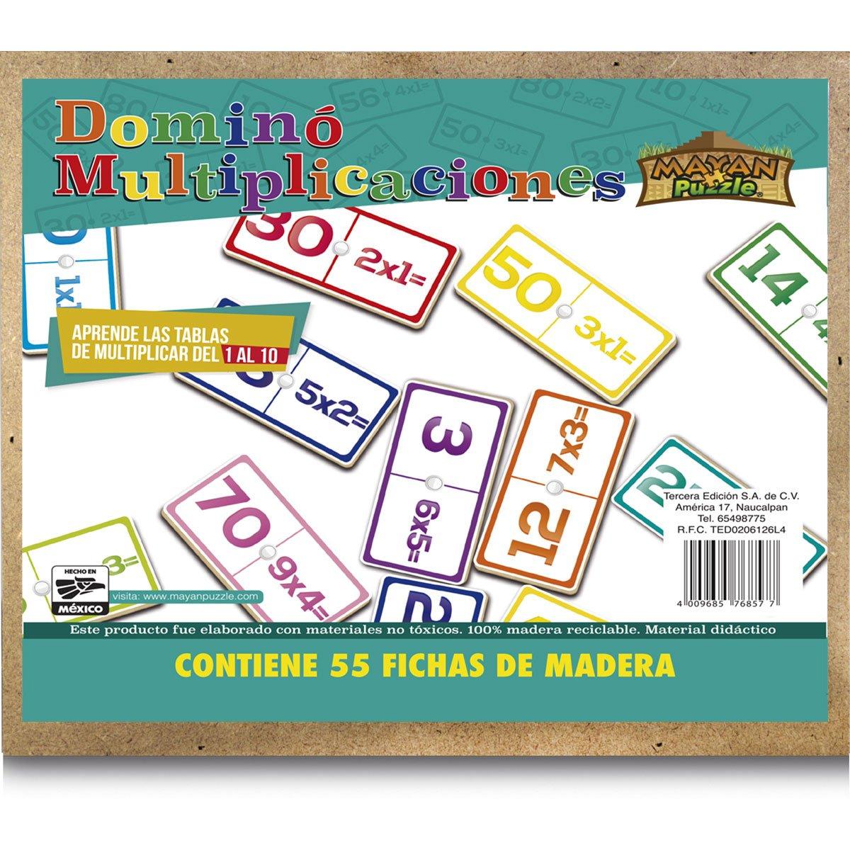 DOMINÓ MULTIPLICACIONES TERCERA EDICION | SEARS.COM.MX - Me entiende!