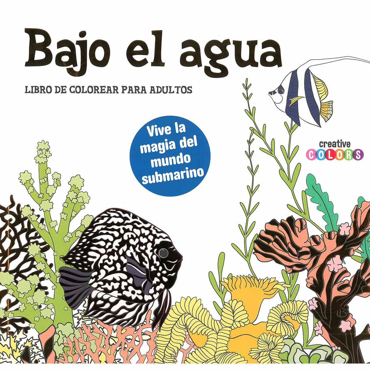 BAJO EL AGUA (LIBRO COLOREAR ADULTOS) DEVECCHI | SEARS.COM.MX - Me ...