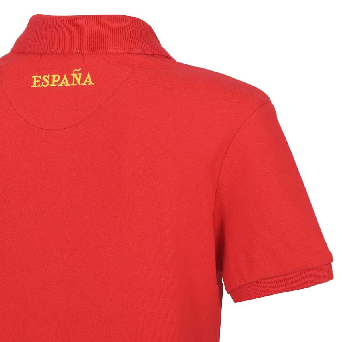 19dd15e031d16 Playera Diseño Mundial España Polo Club