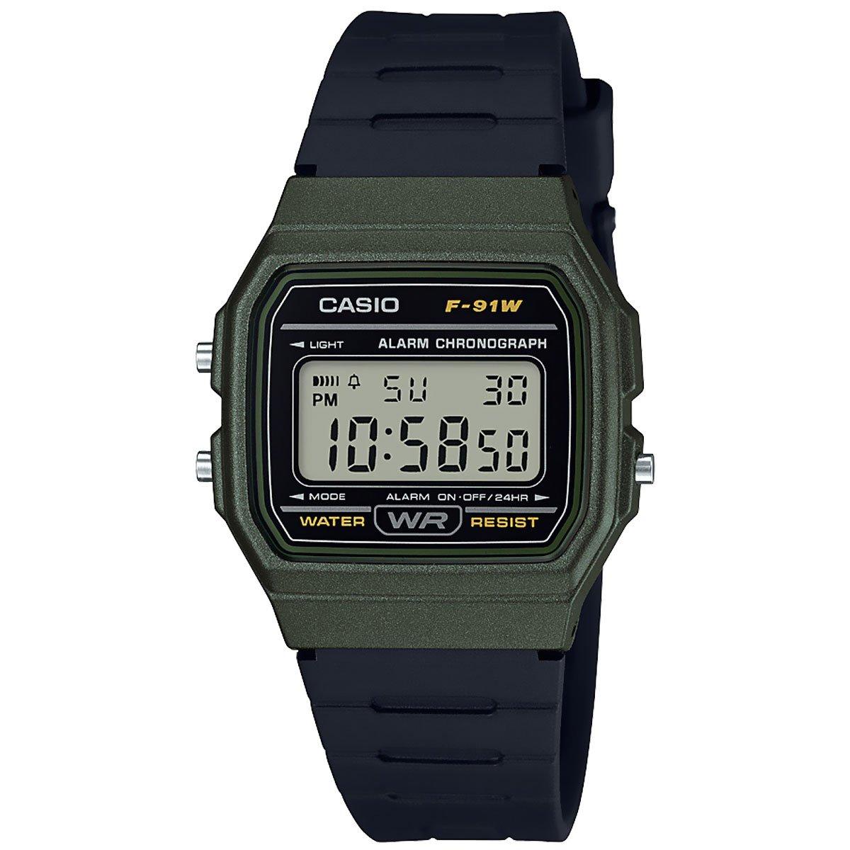 4b733eb1c92a Reloj Unisex Vintage Casio F-91WM-3ACF