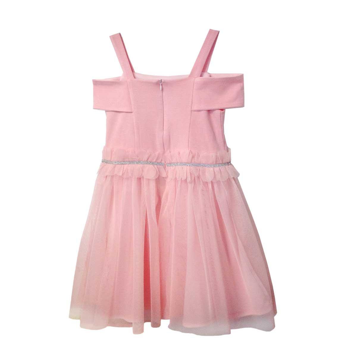 Vestido De Mesh Con Aplique Let\'s Go | SEARS.COM.MX - Me entiende!