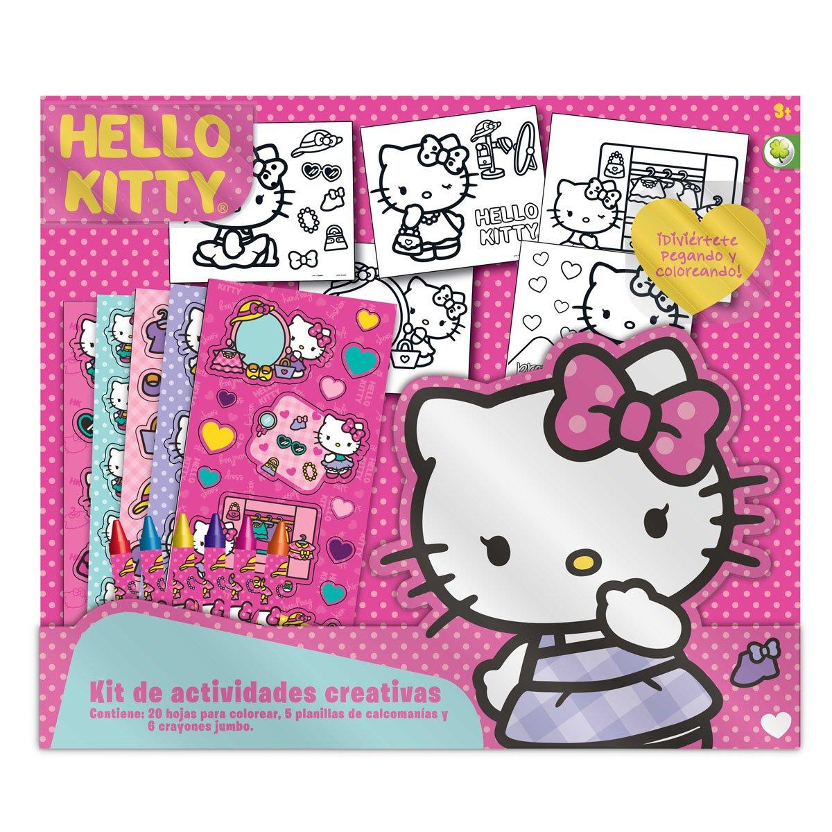 b67139a19e05 Set De Actividades Creativas Hello Kitty Golden Toys