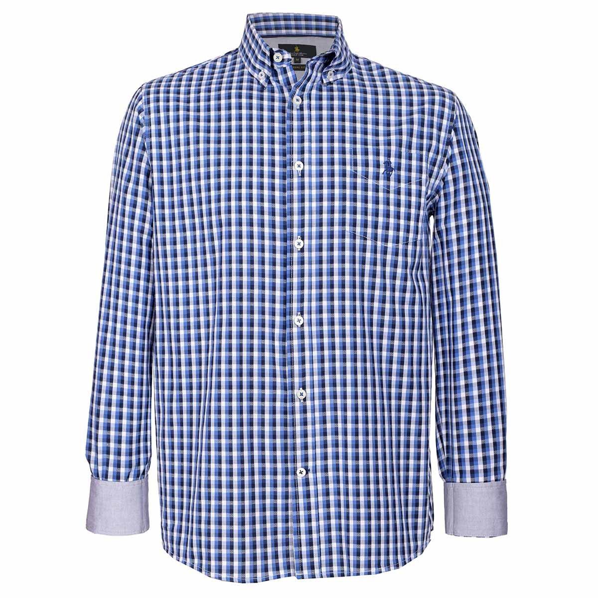 613f9f49c3 Camisa a Cuadros Polo Club