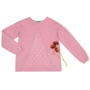 Suéter Color Rosa Benetton